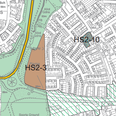 Local Plan HS2-3 and HS2-10