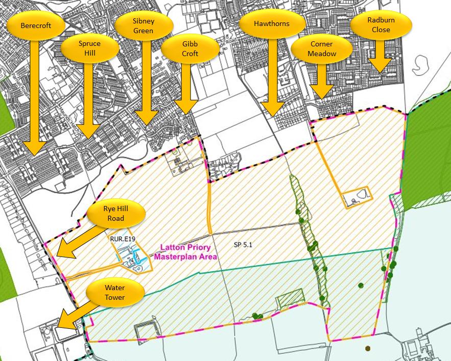 EFDC Local Plan - Latton Priory