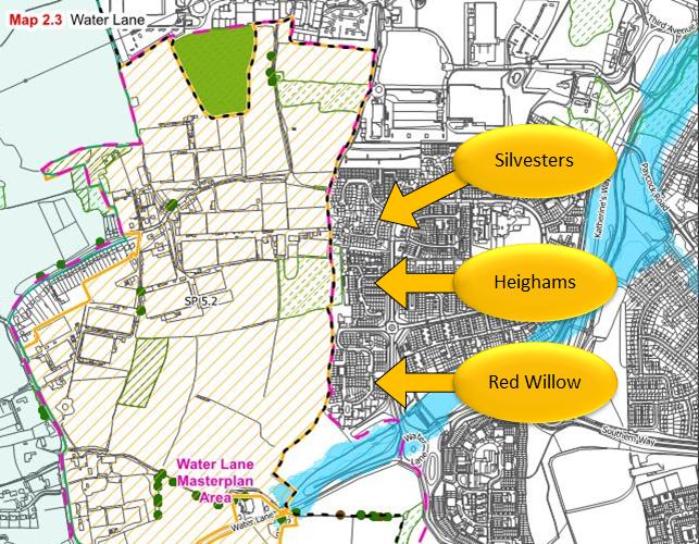 EFDC Local Plan - Water Lane north