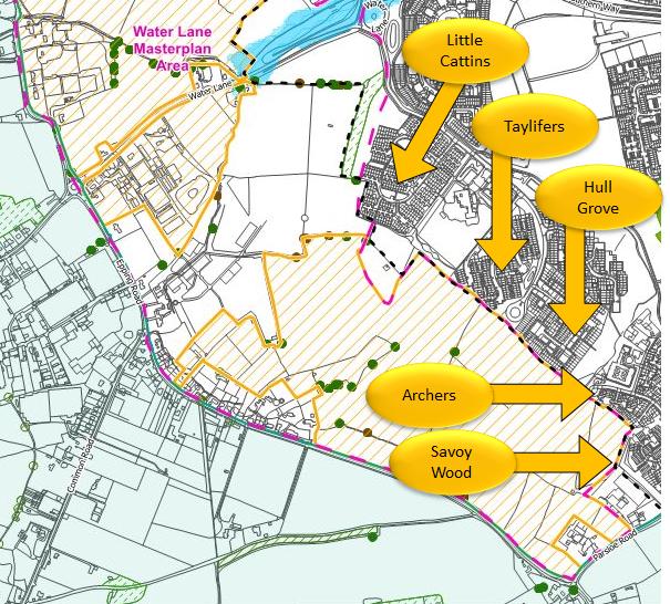 EFDC Local Plan - Water Lane south